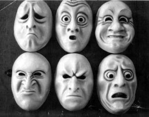 Las caras de las emociones