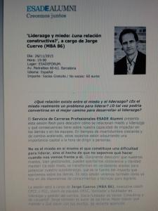 Conferencia J. Cuervo, 26-11-15