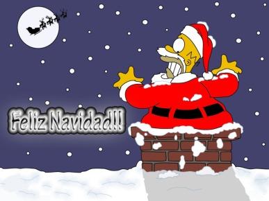 feliz navidad homero