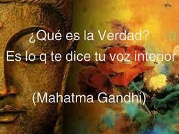 Voz interior, M. Gandhi