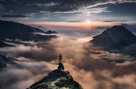 Cumbre montaña